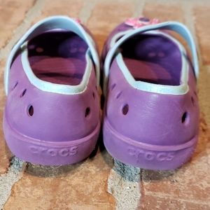 CROCS Shoes - Girls Flowered Crocs